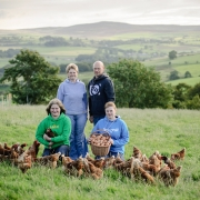 Trefor & Marion Roberts - Free Range Eggs - National Trust Fine Farm Food Awards