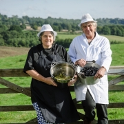 Janet & Les Rogers - Rhubarb & Damson Jam - National Trust Fine Farm Food Awards