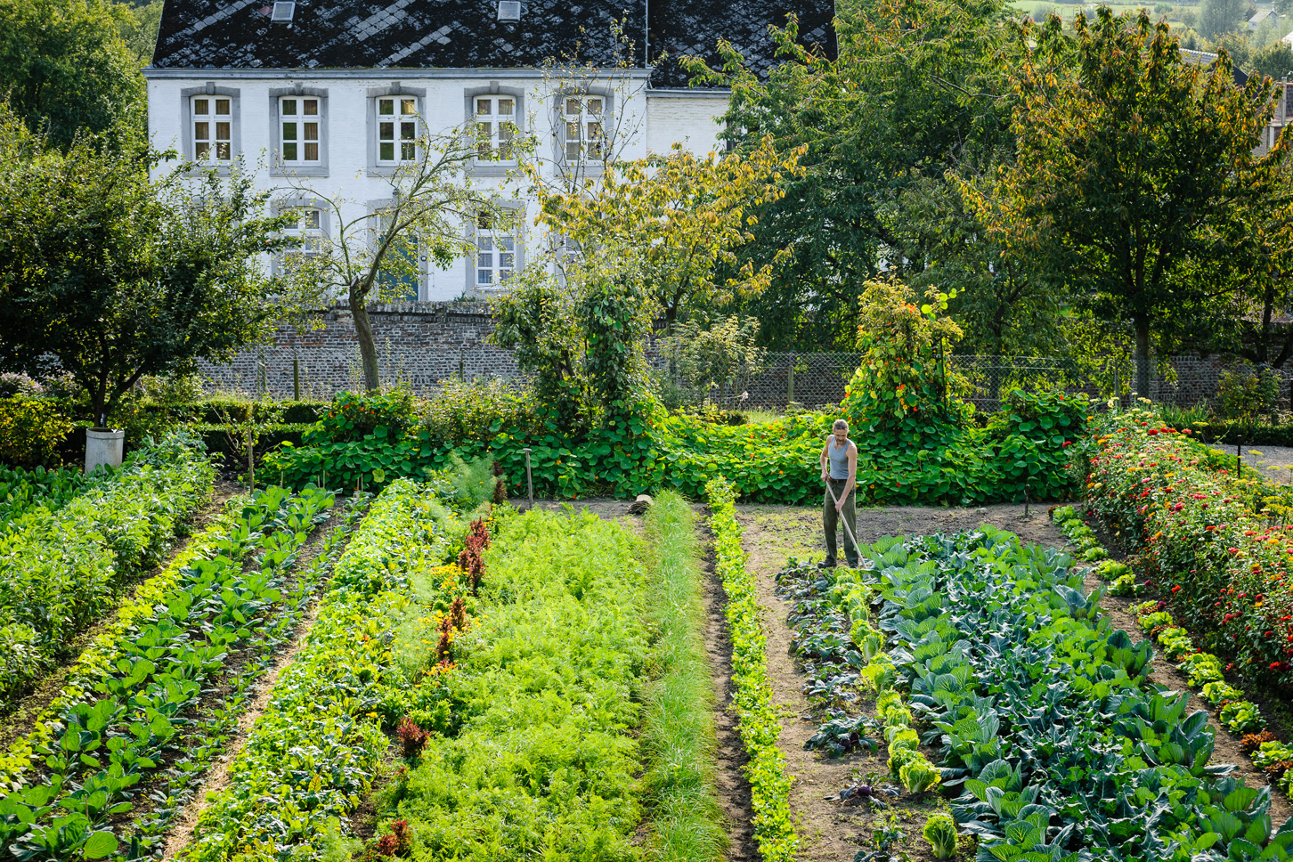 Kasteel Hex - Kitchen Garden