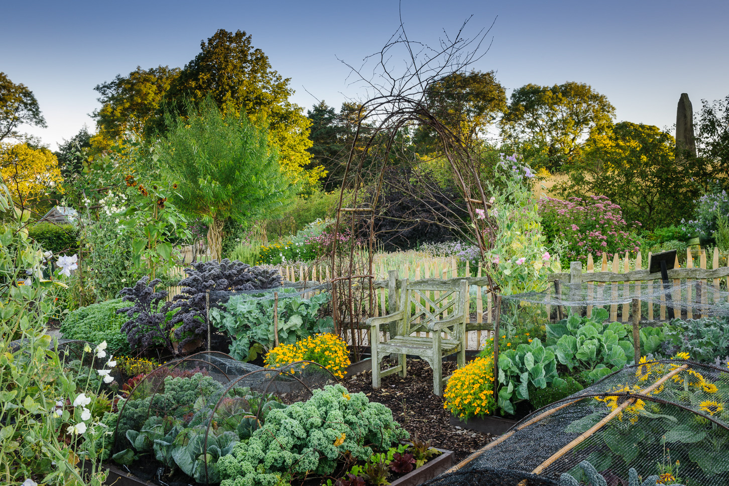 RHS Garden Harlow Carr - The Kitchen Garden