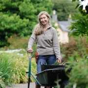 Averil Milligan, National Trust Gardener, Rowallene Garden, Belfast