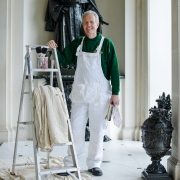 Ronald Roscoe, Traditional Painter & Decorator at Kingston Lacy, Dorset