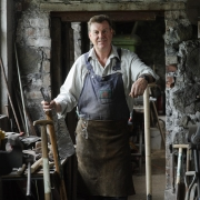 Colin Dawson, Spade Maker at Pattersons Spade Mill, Belfast